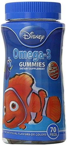 Disney oméga-3 Gummies, 70 Count