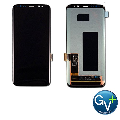 Group Vertical Replacement Screen AMOLED Digitizer Assembly Compatible with Samsung Galaxy S8 (SM-G950) (GV+ Performance) ()