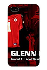 Ellent Design Kansas City Chiefs Case Cover For Iphone 5/5s For New Year's Day's Gift