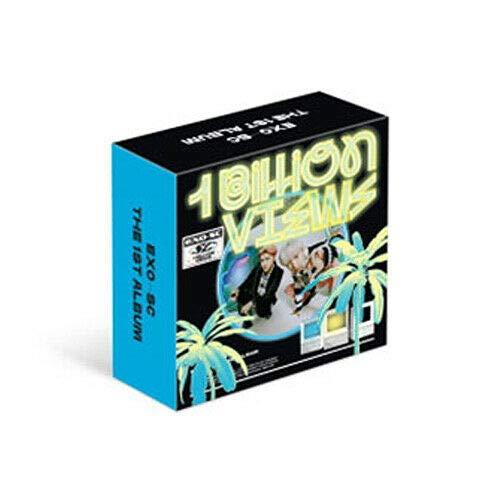 Exo Sc Exo Sc 1 Billion Views 10억뷰 1st Kihno Album Paradise Ver Air Kit Photo Book Card Gift Tracking Code K Pop Sealed Amazon Com Music