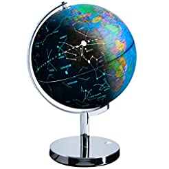 USA Toyz LED Constellation Globe for Kid...