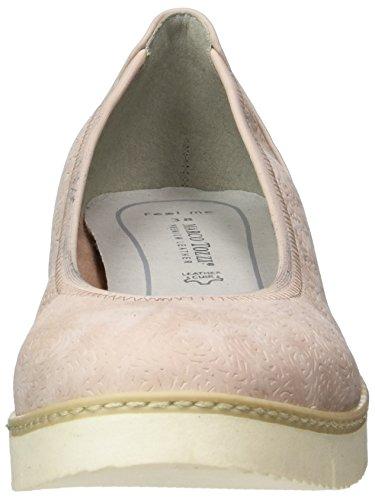 Marco Tozzi Damen 22103 Geschlossene Ballerinas Pink (ROSE ANTIC 517)