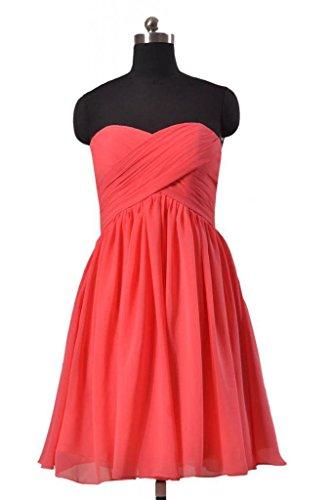 DaisyFormals Dress Sweetheart Short A line 57 Dress silver BM256 Bridal Party Chiffon rr8ZF