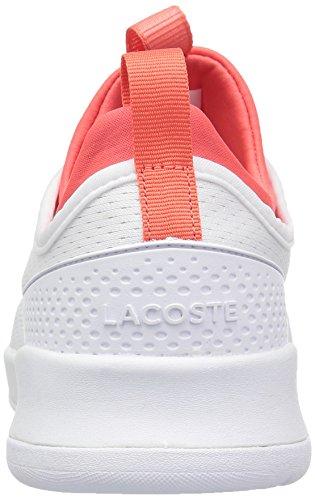 Lacoste Womens Lt Spirit 2.0 118 1 Spw Sneaker Wit / Roze