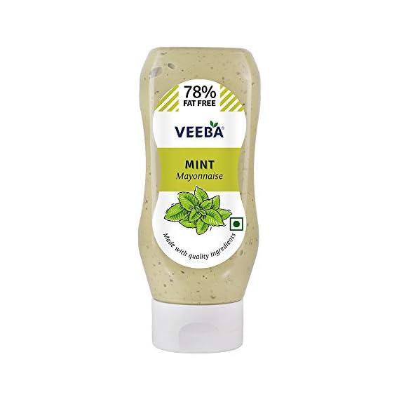 Veeba Dressing - Mint Mayonnaise, 300g Bottle