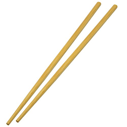 (UNIS Asian Style Reusable Natural Bamboo Chopsticks. 10 Pairs Set.)