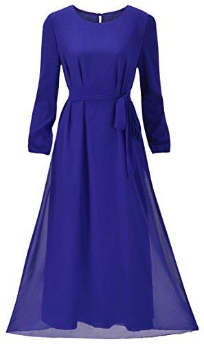 Howriis Womens Chiffon Sleeve Dresses