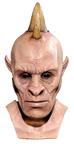 [Humanocerous Resurrection Scary Monster Adult Halloween Costume Mask] (Halloween Resurrection Costume)