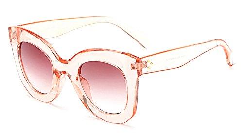 New del Vendimia Lujo de Sun de Gato luneta Grande vidrios Gafas Femme de Las Las de Marca AO3008 Gafas Oculos Trama para Sol de Tea Mujeres de la Pink D Ojo Leopard Mujeres de Zygeo Arriba Negro da1q6YTd