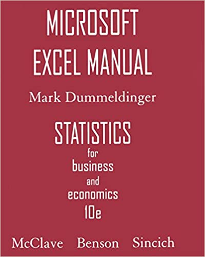 Read online Microsoft Excel Manual for Statistics for Business & Economics PDF, azw (Kindle), ePub