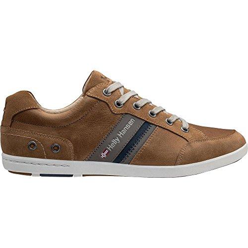 725 Hansen Helly Sneakers Leather Herren N Falcon Braun Light Tan Kordel New P4dqdOF