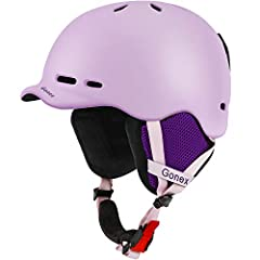【Premium Material for Max Protection】Excellent Integrated molding brings durable and hard polycarbonate shell. Imported shock-absorbent EPS interior is made of super lightweight material. Both provide your head with safe protection. 【Detachab...