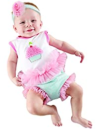 Baby Cakes 2-Piece Cupcake Outfit, 0-6 Months
