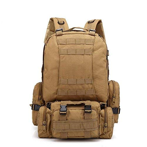 Zehaer Climb Backpack Outdoor Backpack Men and Women Army Army Patrol MOLLE Assault Package Combat Backpack Camping Bag Waterproof Mountaineering Hiking Backpack