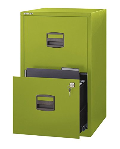 Attrayant Amazon.com : Bisley Two Drawer Steel Home Filing Cabinet, Navy Blue  (FILE2 NV) : Office Products