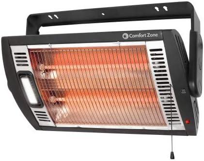 Comfort Zone Ceiling Mounted Radiant Quartz Heater