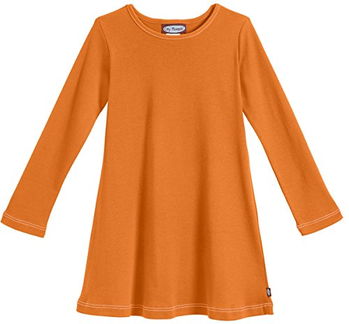 City Threads Little Girls' Cotton Long Sleeve Dress