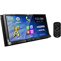JVC KW-V51BT Refurbished DVD/CD/USB Receiver with 7-inch Touch Monitor HDMI Input and Built-in Bluetooth