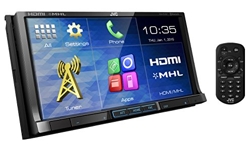 Wvga Touch Screen (JVC KW-V51BTSR DVD/CD/USB Receiver with 7-inch WVGA Touch Panel Monitor HDMI Input and Built-in Bluetooth)