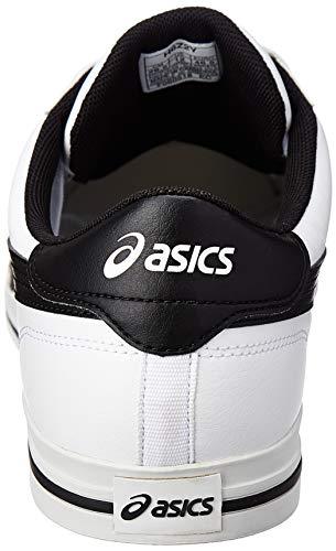 Tempo Chaussures Classic Ou Basses blk Asics Blanc Simili Cuir White 75xdSq7RIw