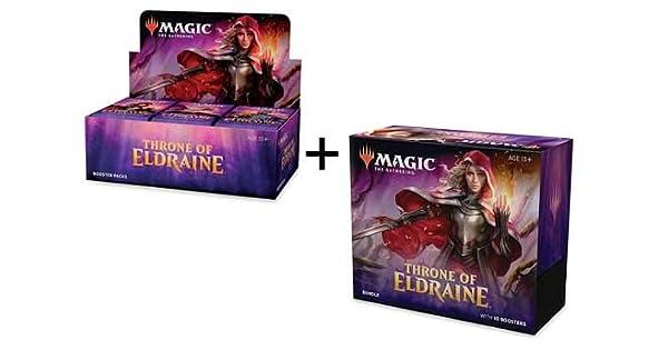 Amazon.com: MTG Magic the Gathering Throne of Eldraine ...