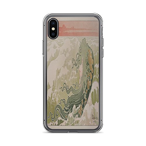 Vintage Poster - The Wave 1319 - iPhone Xs Phone Case