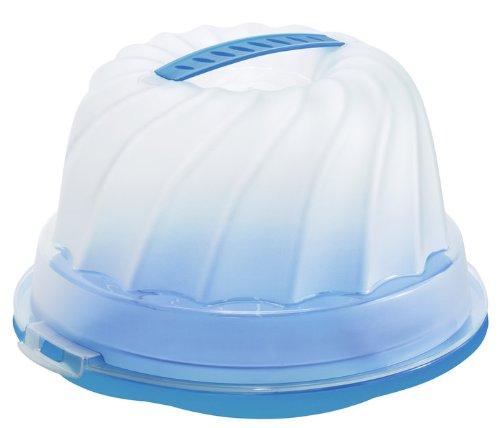 Gugelhupf Kuchenbehälter ocean blau