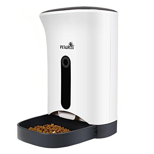 TD Design 4.3L Automatisierte Futterspender for Hunde & Katzen -Bis zu 4 Mahlzeiten pro Tag