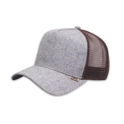 brown Fitted DJINNS Rhomb grey Cap Trucker High Z5qIw
