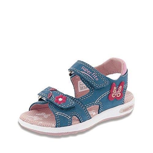 Superfit , Chaussures de ville à lacets pour fille bleu bleu
