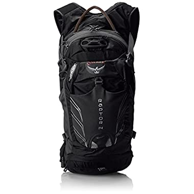 Osprey Men's Raptor 14 Hydration Pack, Black, One Size