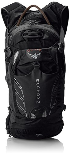 Osprey Mens Raptor 14 Hydration Pack Black One Size