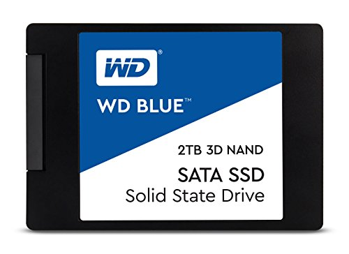 WD Blue 3D NAND 2TB PC SSD - SATA III 6 Gb/s 2.5''/7mm Solid State Drive - WDS200T2B0A by Western Digital