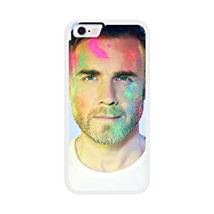 Take That Gary J9U2SH1Y Caso funda iPhone 6 4.7 pulgadas del teléfono celular blanco