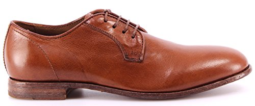 Chaussure Classiques Homme MOMA 11702-SC Siena Cognac Derby Made Italy Nouveau