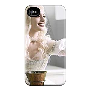 MEjCVPp1275HJfFn Anti-scratch Case Cover Jeffrehing Protective Anne Hathaway Alice In Wonderland Case For Iphone 4/4s by lolosakes