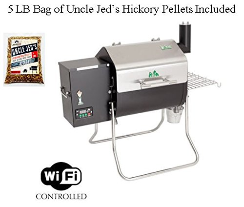 Best Price! Green Mountain Grill Davy Crockett Pellet Grill With 5LB Pellets Package