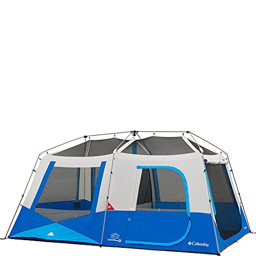 Columbia Sportswear Fall River 8 Person Instant Dome Tent (Compass Blue)