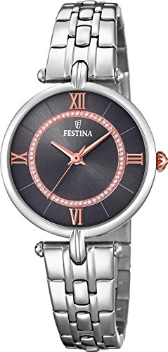 Festina Mademoiselle F20315/2 Wristwatch for women With Swarovski crystals