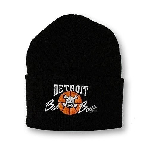 Detroit Pistons Bad Boys Apparel- Historic Vintage NBA Cuffed Knit Hat