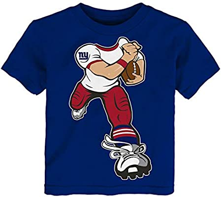 the latest 7e622 bddea Amazon.com : Outerstuff Toddler New York Giants NY Tee Yard ...