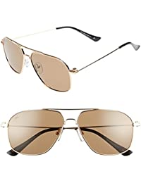 """The Marquise"" Handcrafted Designer Polarized Aviator Sunglasses For Men & Women"