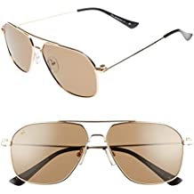 "PRIVÉ REVAUX ""The Marquise"" Handcrafted Designer Polarized Aviator Sunglasses For Men & Women"
