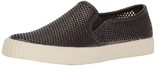 FRYE Women Camille Perf Slip Fashion Sneaker Pewter
