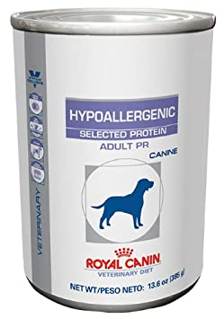 Royal Canin Hypoallergenic Selected Protein PR Canned Dog Food 24 13.6oz by Royal Canin