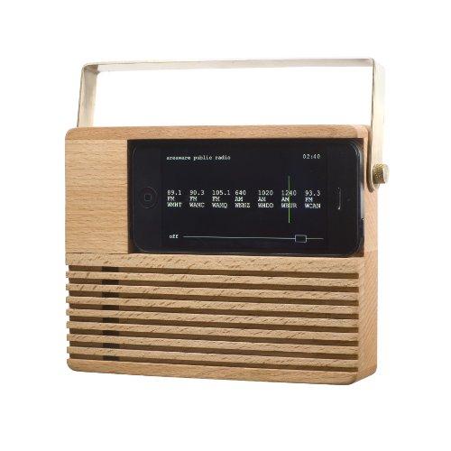Smead Areaware Decorative Radio Dock