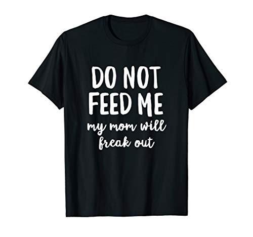 Do Not Feed Me Food Nut Peanut Allergy Awareness Alert T-Shirt