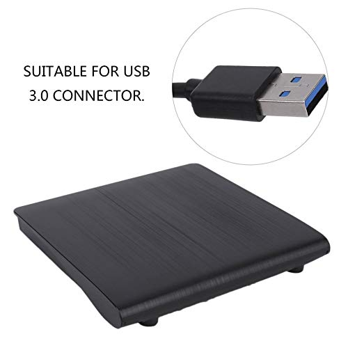 E.I.H. USB External Drive Compact Size Slim External USB 3.0 Laptop PC Drive DVD RW CD Writer Burner Recorder Slot Load Reader Player Optical Drive