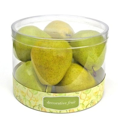 Flora Bunda FT-2196 8pcs Scented Pear in Cylinder Box-12 boxes (Green) by Flora Bunda