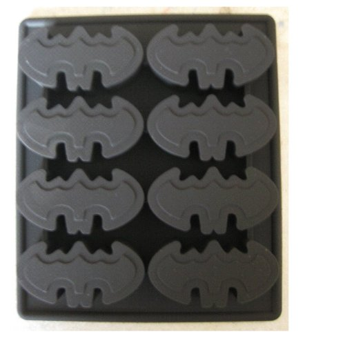 Batman Logo Silicone Birthday Mini Cake Pan Chocolate Candy Mold Ice Tray